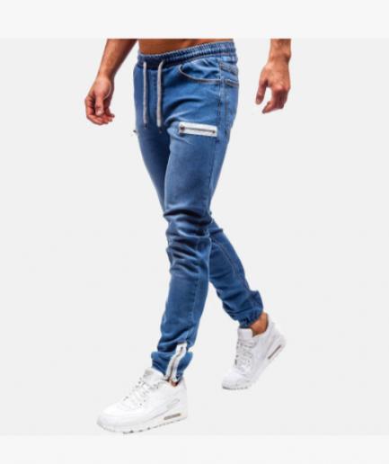 Calças-Jeans-Homem-azul-escuro